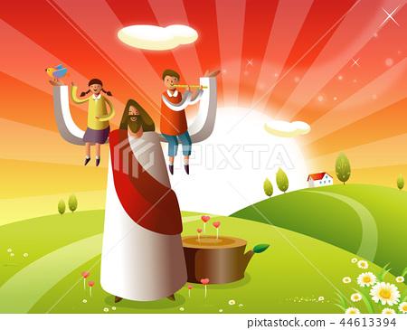 기독교,종교,일러스트 44613394