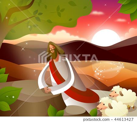기독교,종교,일러스트 44613427
