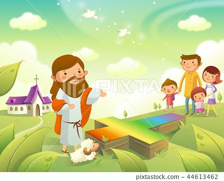 기독교,종교,일러스트 44613462