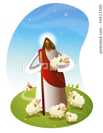 기독교,종교,일러스트 44613480