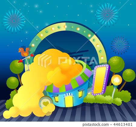 Dream, still life, illustration 44613481