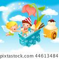 兒童,生活,插圖 44613484