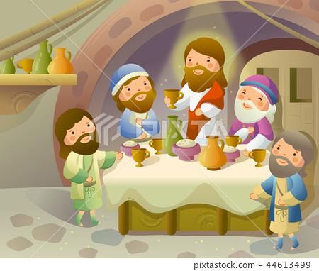 기독교,종교,일러스트 44613499