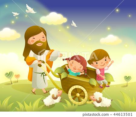 Christianity, Religion, Illustration 44613501