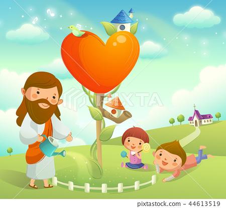 기독교,종교,일러스트 44613519