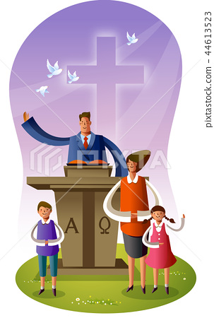 기독교,종교,일러스트 44613523