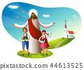 基督教,宗教,插圖 44613525
