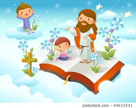 기독교,종교,일러스트 44613531