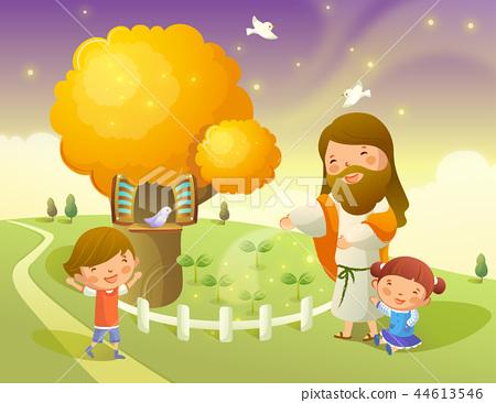 기독교,종교,일러스트 44613546