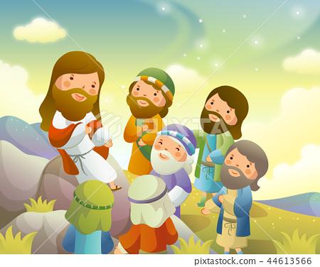 기독교,종교,일러스트 44613566