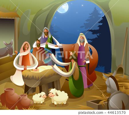 기독교,종교,일러스트 44613570