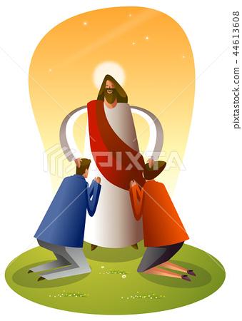 기독교,종교,일러스트 44613608