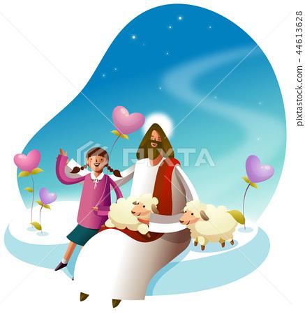 기독교,종교,일러스트 44613628