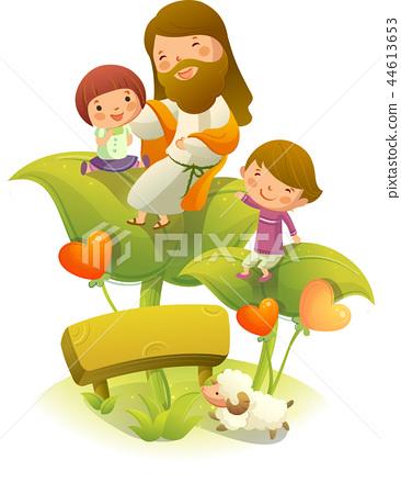 기독교,종교,일러스트 44613653