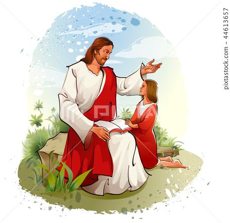 기독교,종교,일러스트 44613657