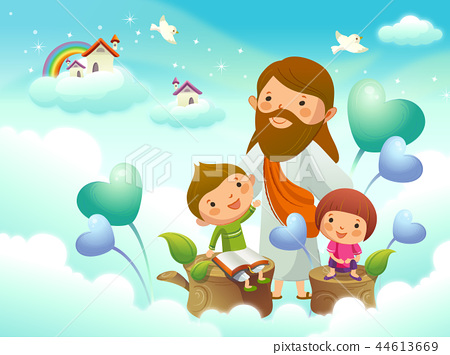 기독교,종교,일러스트 44613669