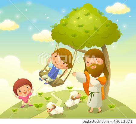 기독교,종교,일러스트 44613671