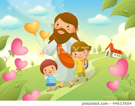 기독교,종교,일러스트 44613684