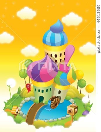 Dream, still life, illustration 44613689