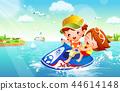 兒童,體育,插圖 44614148
