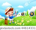 兒童,體育,插圖 44614331