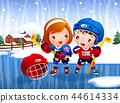 儿童,体育,插图 44614334