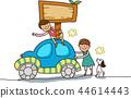 孩子,學校,插圖 44614443