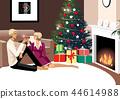 冬天,浪漫,插圖 44614988