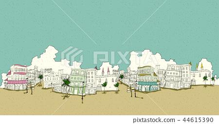 風景,例證 44615390