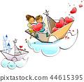 幸福,生活,插圖 44615395