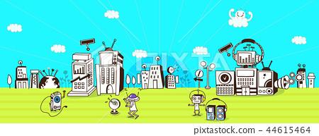 未來,技術,插圖 44615464