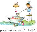 행복,생활,일러스트 44615478