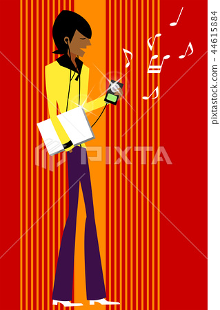 생활,사람,일러스트 44615884