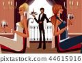 나이트클럽, 파티, 여자 44615916