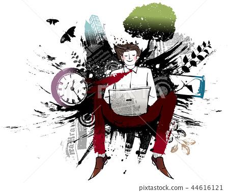 業務,插圖 44616121
