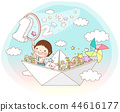 學校,生活,插圖 44616177