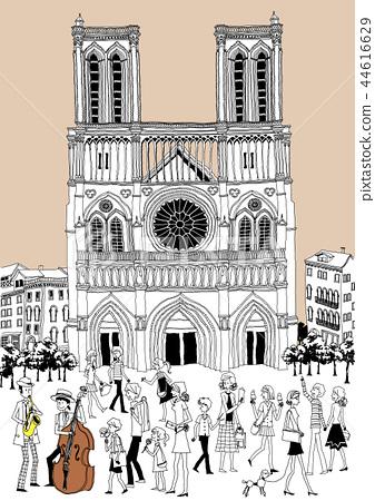 City, travel, illustration 44616629