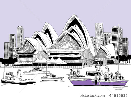 City, travel, illustration 44616633