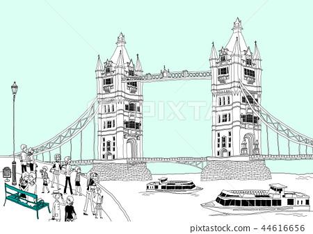 城市,旅行,插圖 44616656