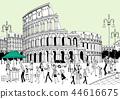 도시,여행,일러스트 44616675