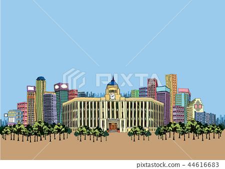 City, travel, illustration 44616683