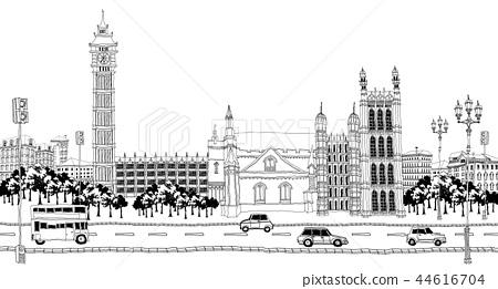 城市,旅行,插圖 44616704