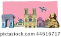 도시,여행,일러스트 44616717