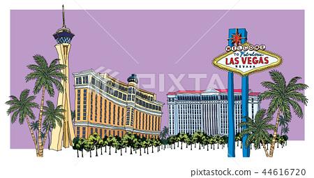 城市,旅行,插圖 44616720
