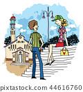 도시,여행,일러스트 44616760