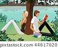 夫婦,人,生活,例證 44617020