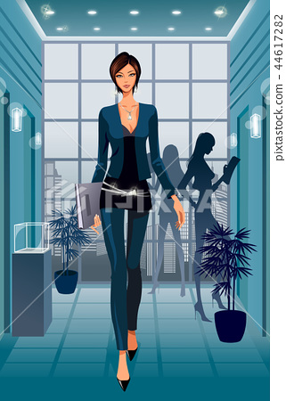 Business, illustration 44617282