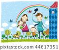 家庭,假期,插圖 44617351
