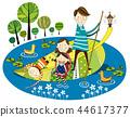 家庭,假期,插圖 44617377
