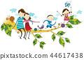 家庭,假期,插圖 44617438